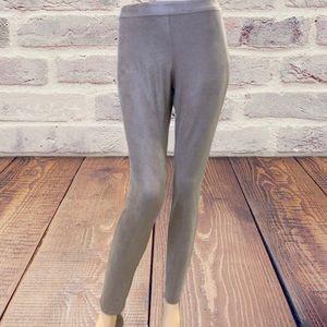 Betty Barclay Faux Suede Skinny Pants/Leggings